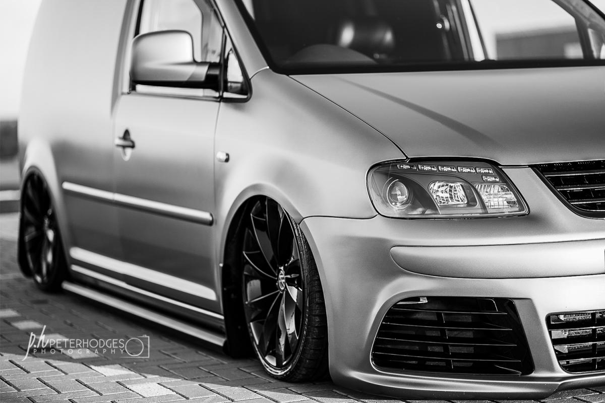 Silver VW Caddy