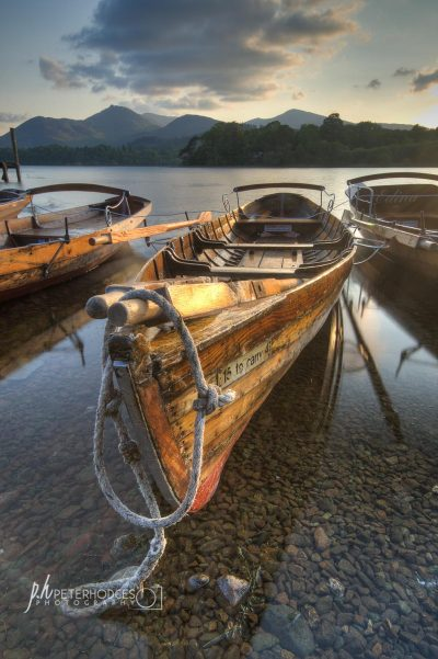 Boats at Derwentwater