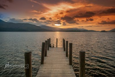 Sunset at Derwentwater