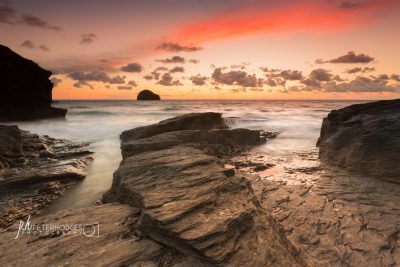 Cornwall Seacape Landscape Photography Trebarwith Strand