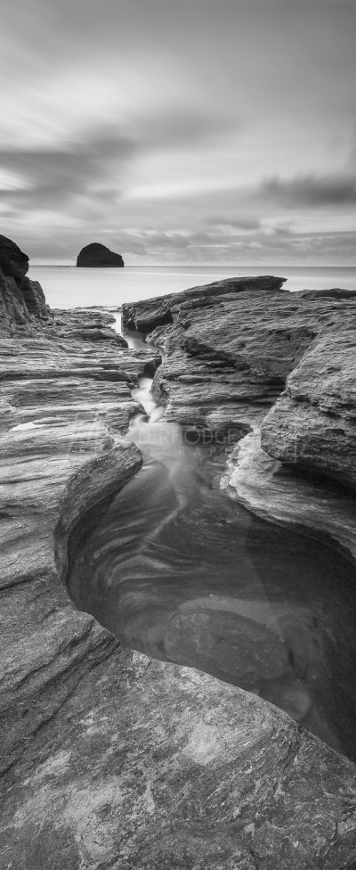 Cornwall Seacape Photography Trebarwith Strand