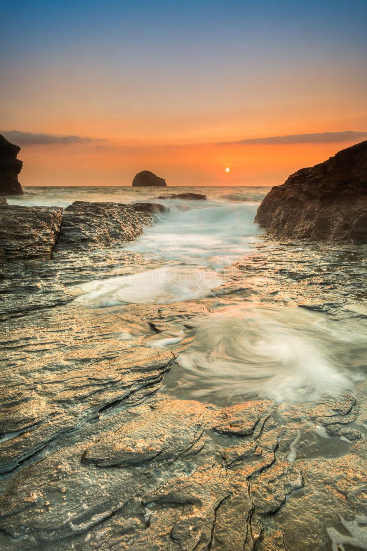 Cornwall Seacape Landscape Photography Trebarwith Strand