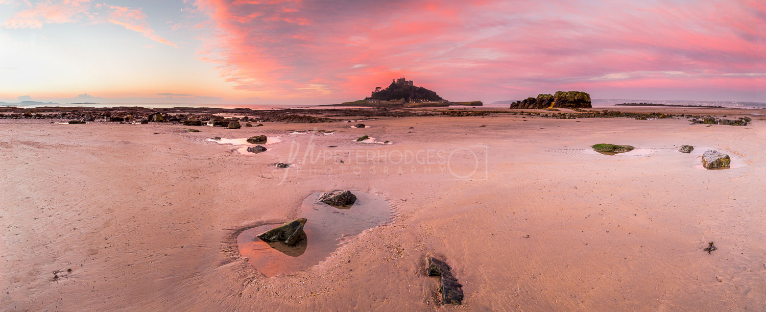 Cornwall Seacape Landscape Photography St Michaels Mounts