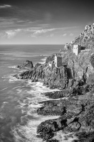Cornwall Seacape Photography The Crowns Botallack. Poldark