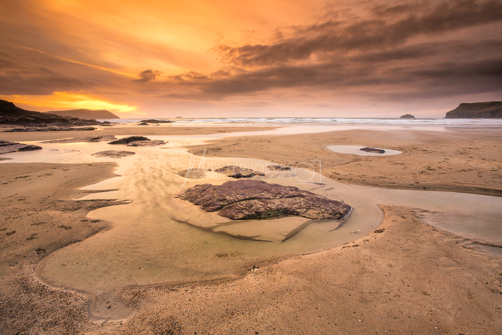 Cornwall Seacape Photography Polzeath
