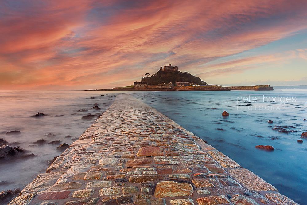 St Michaels Mount, Marazion, Cornwall, Cornish Sunsets, Cornish Photography, Cornish Landscape Photography, Photography for Sale, Cornwall Prints for sale, Cornish Landscape Photographs for sale,