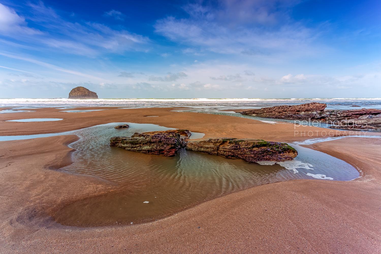 Trebarwith Strand Cornwall Coastline, North Cornwall