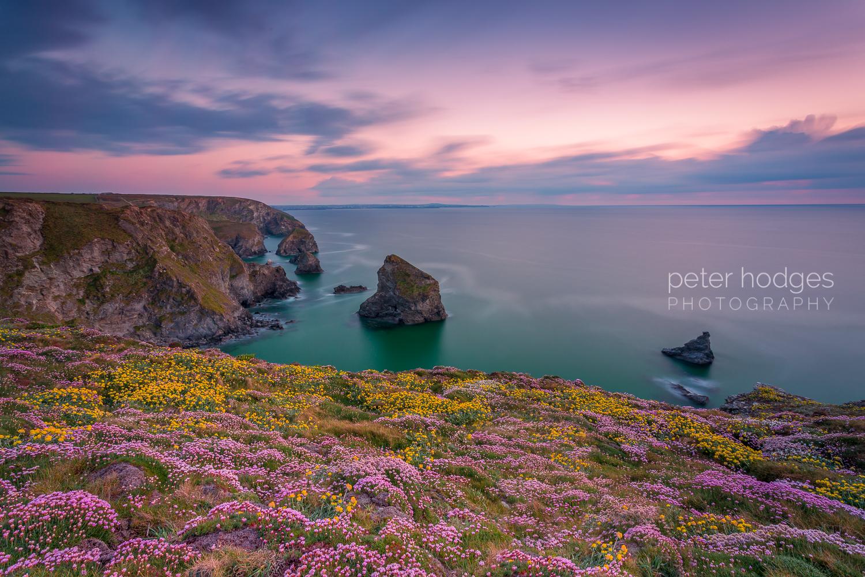 Bedruthan Steps North Cornwall, Cornish photographs, Cornish Coastline images, Photographs of Cornwall for Sale, Cornwall Photographs, Landscape Photographs of Cornwall, Cornish Sunset